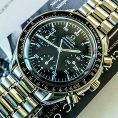 #omega #speedmaster #chronograph #watch #sold to #collector in #brooklyn #nyc - more #watches #forsale at www.watchvaultnyc.com #watchporn