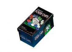 POKER 60 FICHES SCATOLA. Set poker 60 fiches in confezione di cartone