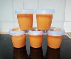 Süßkartoffel-Kohlrabi-Fleischbrei von PeeGee29. Ein Thermomix ® Rezept aus der Kategorie Baby-Beikost/Breie auf www.rezeptwelt.de, der Thermomix ® Community.