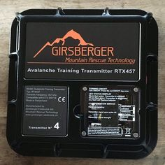unsere mobilen RTX457 Sender gibts auch in schwarz❄️ #rtx457 ##mobiletrainingsystem #lvssuche #safetyfirst #rescuetraining #girsberger #girsbergermountainrescuetechnology Mobiles, Mountain, Train, Technology, Black, Tech, Zug, Tecnologia, Strollers