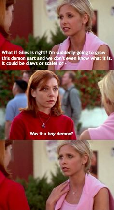 Buffy - Was it a boy demon?