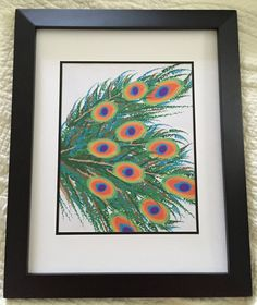 Peacock Feather Print by NightBirdsDesign on Etsy