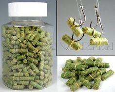NEW-500-Pcs-Green-Grass-Carp-Baits-Fishing-Baits-Fishing-Lures