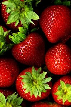 Strawberries are rich in vitamin C, which helps the body to develop resistance against infectious agents and counter inflammation.  Source:  http://www.nutrition-and-you.com/strawberries.html