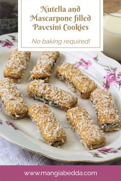 No baking required and can be prepared in minutes! #pavesinicookiebites #pavesinicookiesandwiches