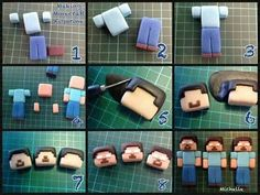 Minecraft fondant guy tutorial