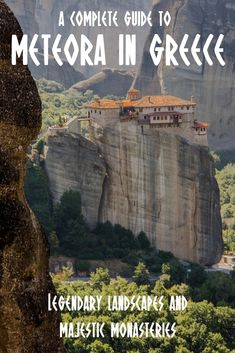 The best places to stay in Meteora, Greece for people of all budgets. Meteora is one of the most beautiful destinations in mainland Greece. This guide lists where to stay in Meteora. Europe Travel Tips, Travel Guides, Places To Travel, Travel Destinations, Places To Visit, European Travel, Greece Itinerary, Greece Travel, Greece Tourism