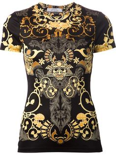 Designer Clothes, Shoes & Bags for Women Versace Fashion, Versace Men, Graphic Shirts, Printed Shirts, King Fashion, Men's Fashion, Versace Shirts, Cut Up Shirts, Matching Couple Shirts
