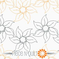 Sunny Sunflower Pantograph Pattern - Digital