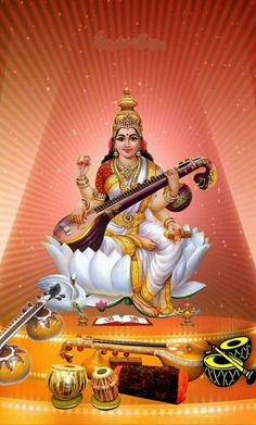 Saraswati Vandana, Saraswati Mata, Saraswati Statue, Saraswati Goddess, Shiva Shakti, Durga Images, Lakshmi Images, Krishna Hindu, Hindu Deities
