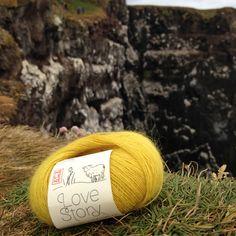 love story yarn by Hélène Magnusson
