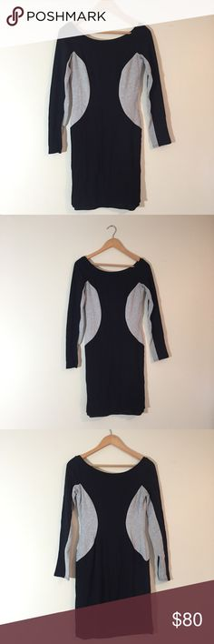 """NWT Bailey 44 Long-Sleeve Black Dress {Size s} Purchased at South Moon Under.  . . ▪️length: 31""""  ▪️armpit-to-armpit: 24""""  ▪️condition: NWT ▪️size: S Bailey 44 Dresses Mini"""
