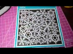 How to make your own Scan mat for the Brother ScanNCut Jen Blausey - YouTube