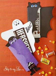 Emboltura de chocolates halloween