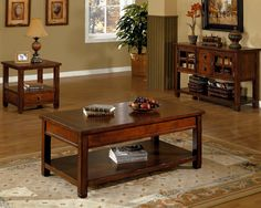 Alpine Lodge Occasional Tables