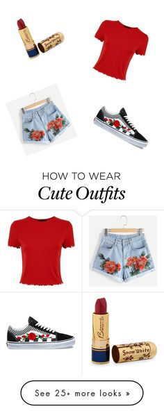 """""""cute outfit"""" by krystal6262 on Polyvore featuring Bésame and Vans"""