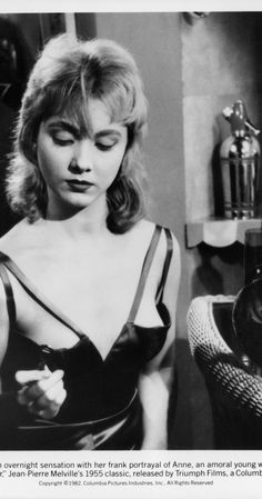 Isabelle Corey in BOB LE FLAMBEUR (Jean-Pierre Melville 1955)