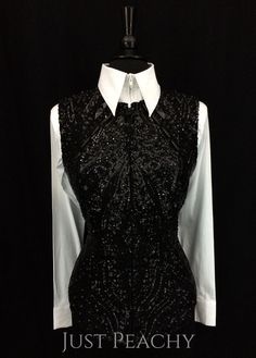 Jet Black Vest by Sweet Magnolia ~ Ladies Medium – Just Peachy