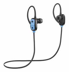 Jam Audio Live Large Bluetooth Sport In-Ear Headphones - Black - Noel Leeming Sports Headphones, Best Headphones, Over Ear Headphones, Aux Cord, Audio, Give You Up, Bluetooth Headphones, Live, Black