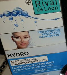 Hydro Booster-Serie von Rival de Loop: Anti-Aging - trotzdem leicht für den Sommer!  http://www.mihaela-testfamily.de  #neubeirossmann #rivaldeloop #hydrobooster #hyaluron #Beauty #antiaging #feuchtigkeitspflege