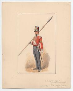 Duke of Cambridge's Own (Middlesex Regiment) 1810