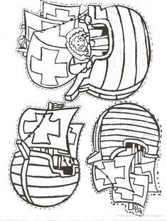 Free printable Christopher Columbus hat pattern