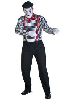 Mime Costume Medium