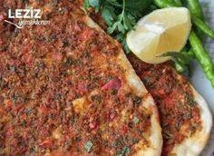 Ev Yapımı Lahmacun (Nefis Mi Nefis) Meatloaf, Mashed Potatoes, Salsa, Bread, Cooking, Ethnic Recipes, Pizza, Food, Drink