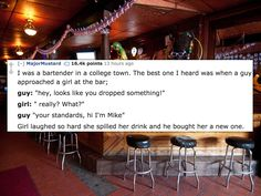 15 of the Smoothest Moves Bartenders Have Ever Seen on the Job - CollegeHumor Post