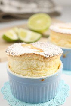 Lemon, lime & orange souffle http://kokken69.blogspot.com/2010/09/lemon-lime-orange-souffle.html