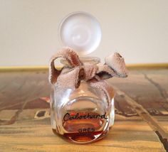 Vintage Fifties Cabochard by Gres Perfume bottle by SpaceModyssey