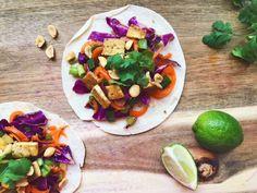 Tofu Thai Tacos