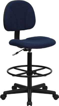 $70.79 & FREE Shipping. Flash Furniture BT-659-NVY-GG Navy Blue Patterned Fabric Multi-Functional Ergonomic Drafting Stool Flash Furniture http://www.amazon.com/dp/B001BX71DO Cylinder heights: 26-inch - 30-1/2-inch or 22-1/2-inch - 27-inchh/ref=cm_sw_r_pi_dp_svobub12G83SY