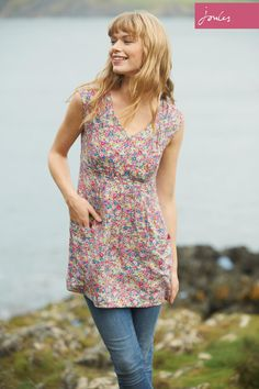 Buy Joules Ditsy Floral Tunic Dress from the Next UK online shop