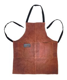 Take a look at the Fox Run Leather Grill Apron on #zulily today!