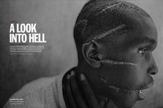 "From ""A Look into Hell."" July 4, 1994 International issue. Photograph by James Nachtwey"