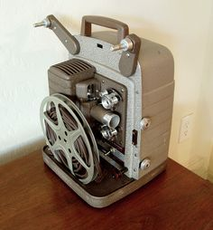 Real to Real, old home movies anyone? I'll bring the pop corn. My family still has one of these.