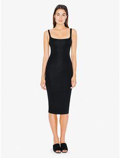 The most flattering dress in my closet http://store.americanapparel.net/en/ponte-tank-dress_rsapo306?c=Black
