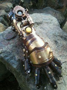 Steampunk Gauntlet by Skinz-N-Hydez.deviantart.com on @deviantART