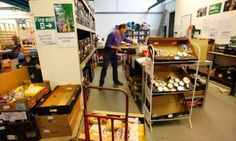 The Trussell Trust has a food bank in Salisbury