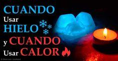 El hielo funciona para las heridas debido a que contrae sus vasos sanguíneos, mientras que el calor ayuda a calmar los dolores y molestias musculares. http://ejercicios.mercola.com/sitios/ejercicios/archivo/2015/08/28/terapia-de-frio-y-calor.aspx
