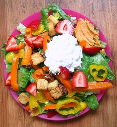 Now that is a summer salad!