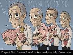 financial cartoons | Global Financial Crisis