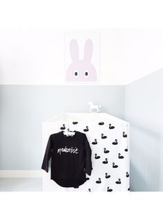 Our Modernist tshirt and Swan blanket is made from 100% gots certified organic cotton!