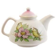 The Flower Collection Teapot. $37.00. #giftideas #gift #souvenir #present #ceramic #clay #handmade #teaset #home #tea #warmly #cup #saucer #pottery #teapots #CatalogOfGoodDeeds #CatalogOfStElisabethConvent