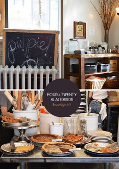 Four & Twenty Blackbirds pie shop in Gowanus, Brooklyn. From the Spotted SF blog.