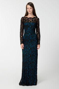Prussian blue dress