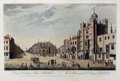 A View of St James Palace, Pall Mall etc by Thomas Bowles, published 1763 - Pall Mall, London - Wikipedia