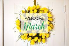 Paper & Glam - Hello March