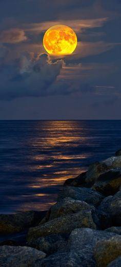 ...lights my way along the shores of my life... #moon #goddess #luna